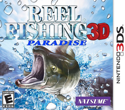 Reel Fishing Paradise 3D 3DS coverM (ARFE)