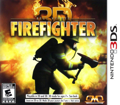 Real Heroes - Firefighter 3D 3DS coverM (ARHE)