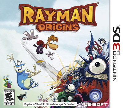 Rayman Origins 3DS coverM (ARME)