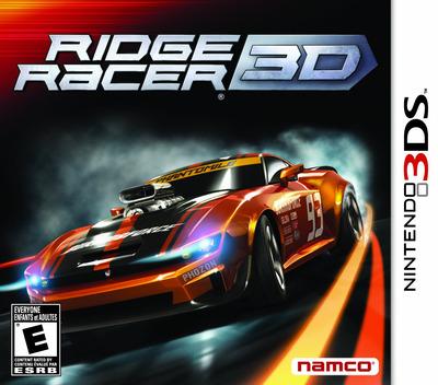 Ridge Racer 3D 3DS coverM (ARRE)