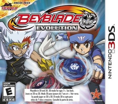 Beyblade - Evolution 3DS coverM (ARXE)