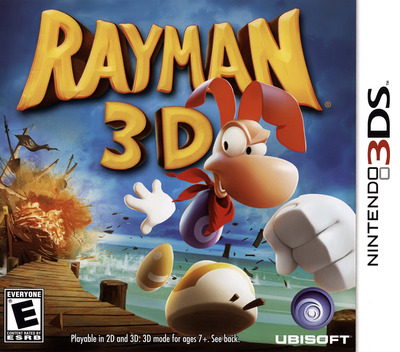 Rayman 3D 3DS coverM (ARYE)