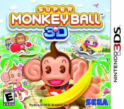 Super Monkey Ball 3D 3DS coverM (ASME)