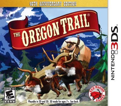 The Oregon Trail 3DS coverM (AT9E)