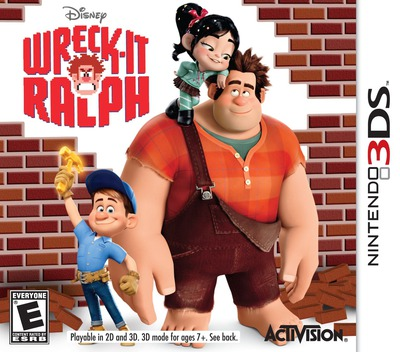 Wreck-It Ralph 3DS coverM (AWRE)