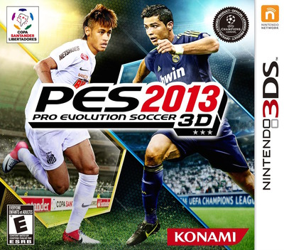 Pro Evolution Soccer 2013 3D 3DS coverM (AWTE)