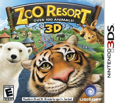 Zoo Resort 3D 3DS coverM (AZOE)
