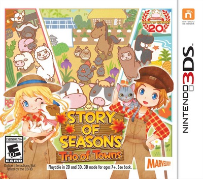 Story of Seasons: Trio of Towns 3DS coverM (BB3E)