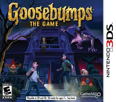 Goosebumps - The Game 3DS coverM (BBME)