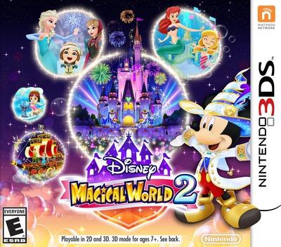 Disney Magical World 2 3DS coverM (BD2E)
