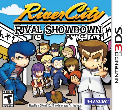 River City: Rival Showdown 3DS coverM (BDJE)