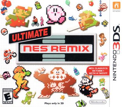 Ultimate NES Remix 3DS coverM (BFRE)