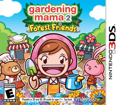 Gardening Mama 2 - Forest Friends 3DS coverM (BGME)