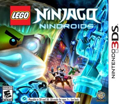 LEGO Ninjago - Nindroids 3DS coverM (BLNE)