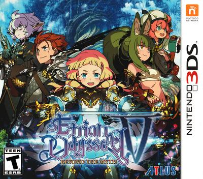 Etrian Odyssey V: Beyond the Myth 3DS coverM (BMZE)