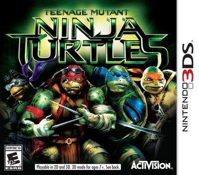 Teenage Mutant Ninja Turtles 3DS coverM (BNTE)