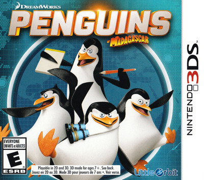 Penguins of Madagascar 3DS coverM (BPGE)