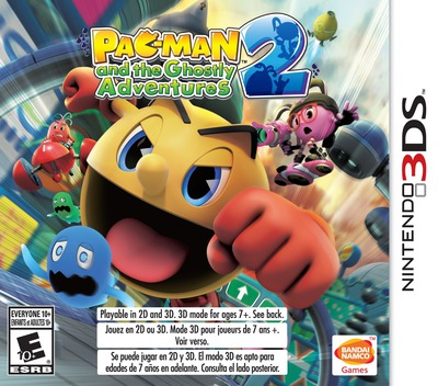 Pac-Man and the Ghostly Adventures 2 3DS coverM (BPME)