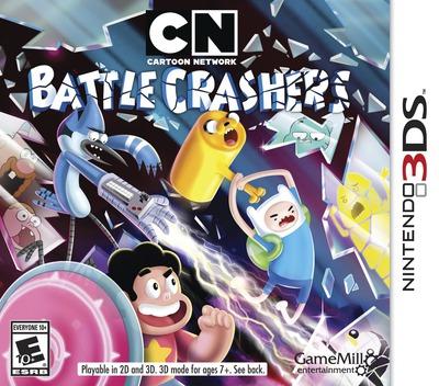 Cartoon Network - Battle Crashers 3DS coverM (BRWE)