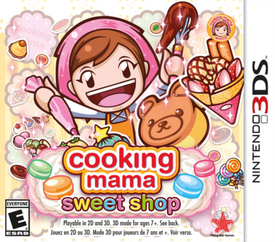Cooking Mama: Sweet Shop 3DS coverM (BS8E)