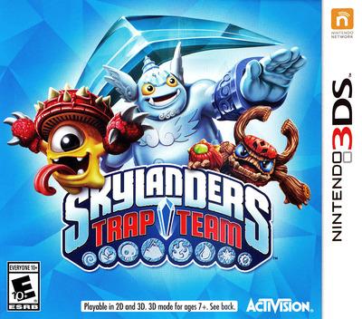Skylanders Trap Team 3DS coverM (BS9E)