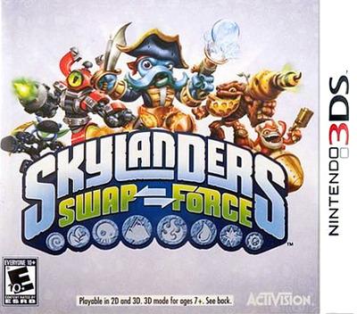 Skylanders Swap Force 3DS coverM (BSFE)