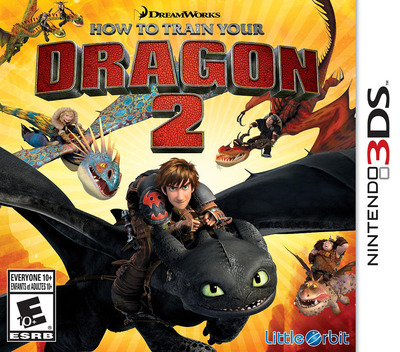 How to Train Your Dragon 2 3DS coverM (BTDE)