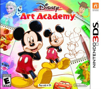 Disney Art Academy 3DS coverM (BWDE)