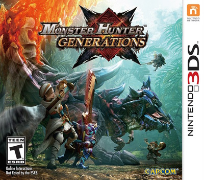 Monster Hunter Generations 3DS coverM (BXXE)