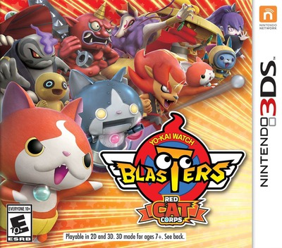 Yo-Kai Watch Blasters: Red Cat Corps 3DS coverM (BYAE)