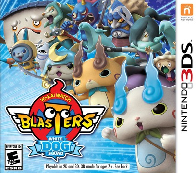 Yo-Kai Watch Blasters: White Dog Squad 3DS coverM (BYBE)