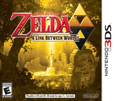 The Legend of Zelda - A Link Between Worlds 3DS coverM (BZLE)