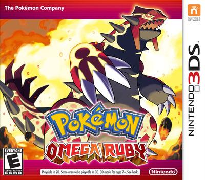 Pokémon Omega Ruby 3DS coverM (ECRE)