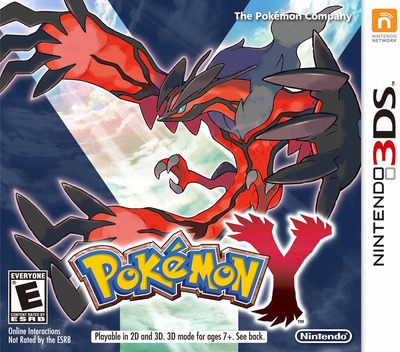 Pokémon Y 3DS coverM (EK2E)