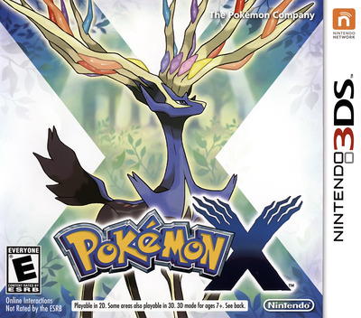 Pokémon X 3DS coverM (EKJE)