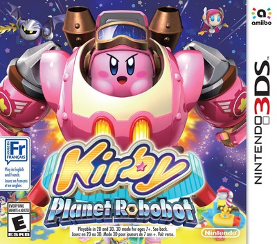 Kirby: Planet Robobot 3DS coverM (AT3E)