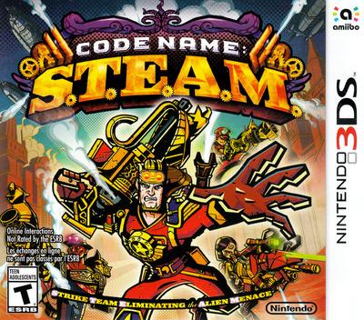 Code Name: S.T.E.A.M. 3DS coverM (AY6E)