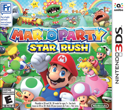 Mario Party: Star Rush 3DS coverM (BAAE)