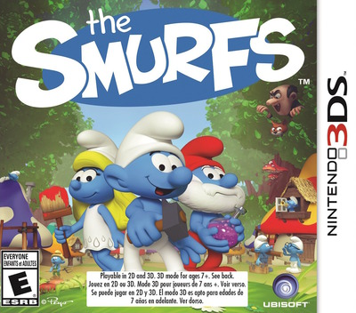 The Smurfs 3DS coverM (BUSE)