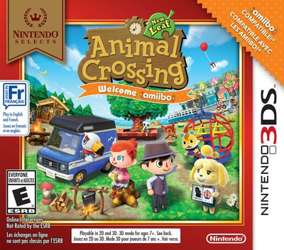 Animal Crossing: New Leaf - Welcome amiibo! 3DS coverM (EAAE)