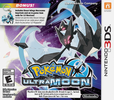 Pokémon Ultra Moon 3DS coverM2 (A2BE)