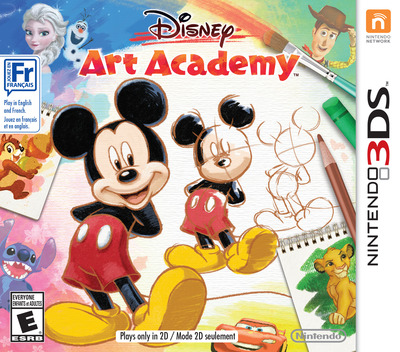 Disney Art Academy 3DS coverM2 (BWDE)