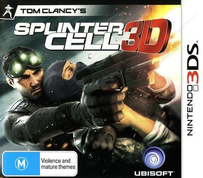Tom Clancy's Splinter Cell 3D 3DS coverMB (ASCP)