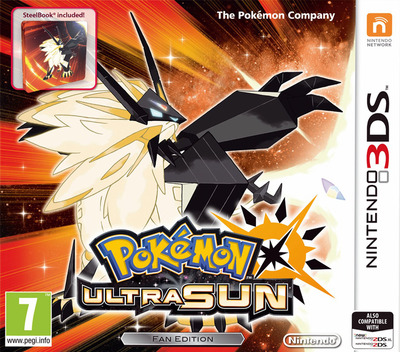 Pokémon Ultra Sun 3DS coverMB (A2AP)