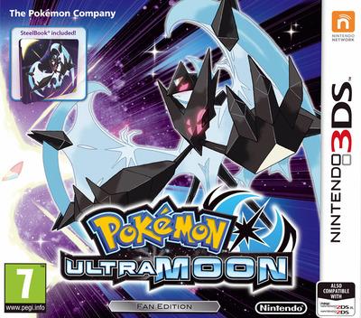 Pokémon Ultra Moon 3DS coverMB (A2BP)