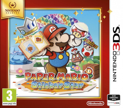 Paper Mario - Sticker Star 3DS coverMB (AG5P)