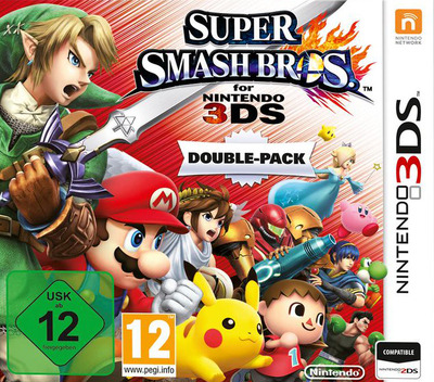 Super Smash Bros. for Nintendo 3DS 3DS coverMB (AXCP)