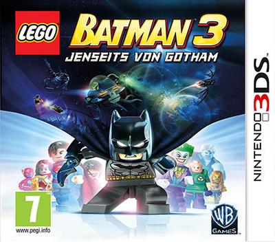 LEGO Batman 3 - Jenseits von Gotham 3DS coverMB (BTMZ)