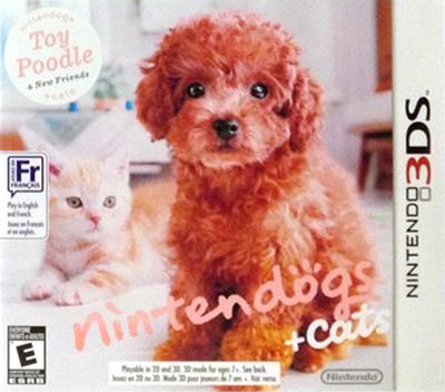 Nintendogs + Cats - Toy Poodle & New Friends 3DS coverMB (ADCE)
