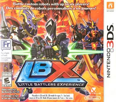LBX - Little Battlers eXperience 3DS coverMB (ADNE)